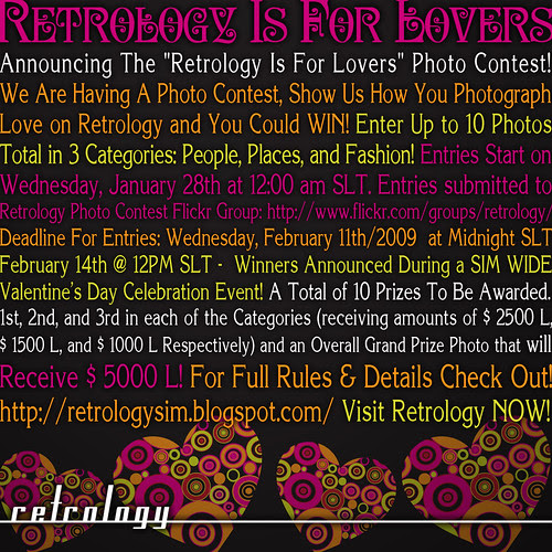 Retrology Is For Lovers Photo Contest! ON NOW!