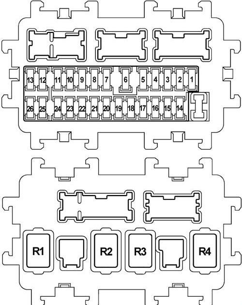2008 infiniti fx35 fuse box diagram