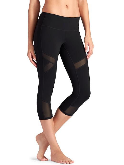 Athleta Womens Crux Capri Size S - Black