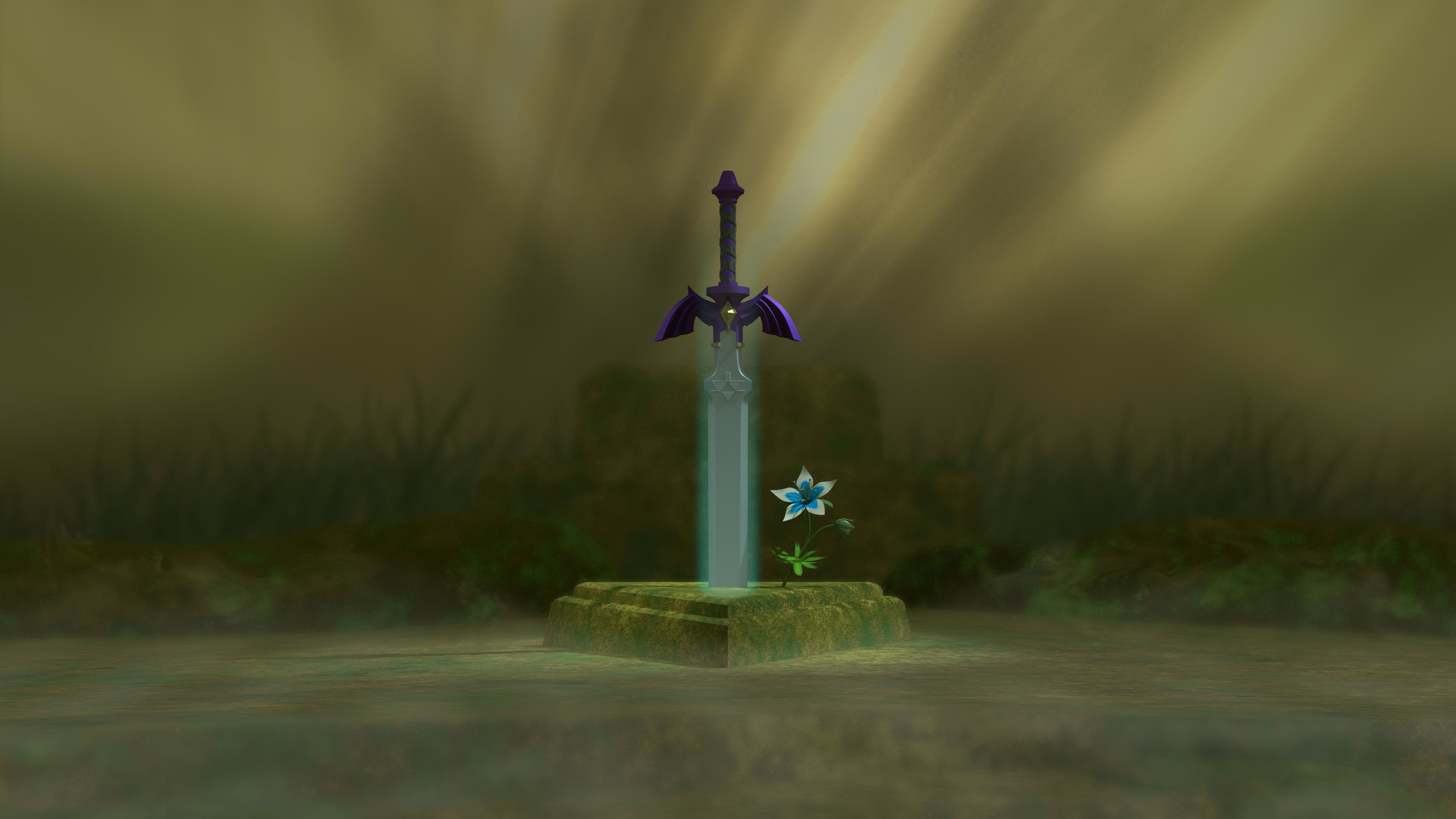 Master Sword Wallpaper 72 Images