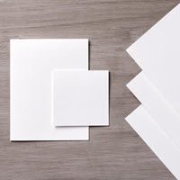 "Whisper White 8-1/2"" x 11"" Thick Cardstock"