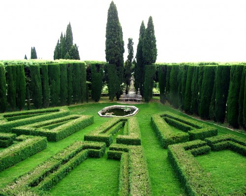 The Geometric Italian Garden
