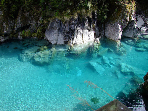 Turquoise Pool, South Island, New Zealand