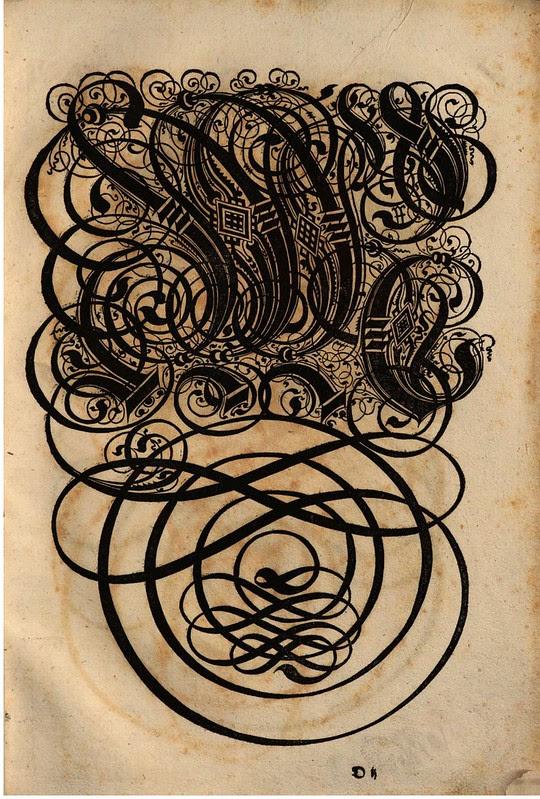 Paulus Franck - 'Schatzkammer Allerhand Versalien Lateinisch vnnd Teutsch', 1601 alphabet n