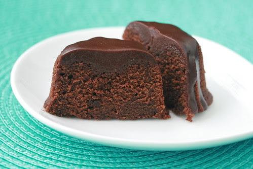 Chocolate Velvet Bundts with Ganache - I Like Big Bundts 2