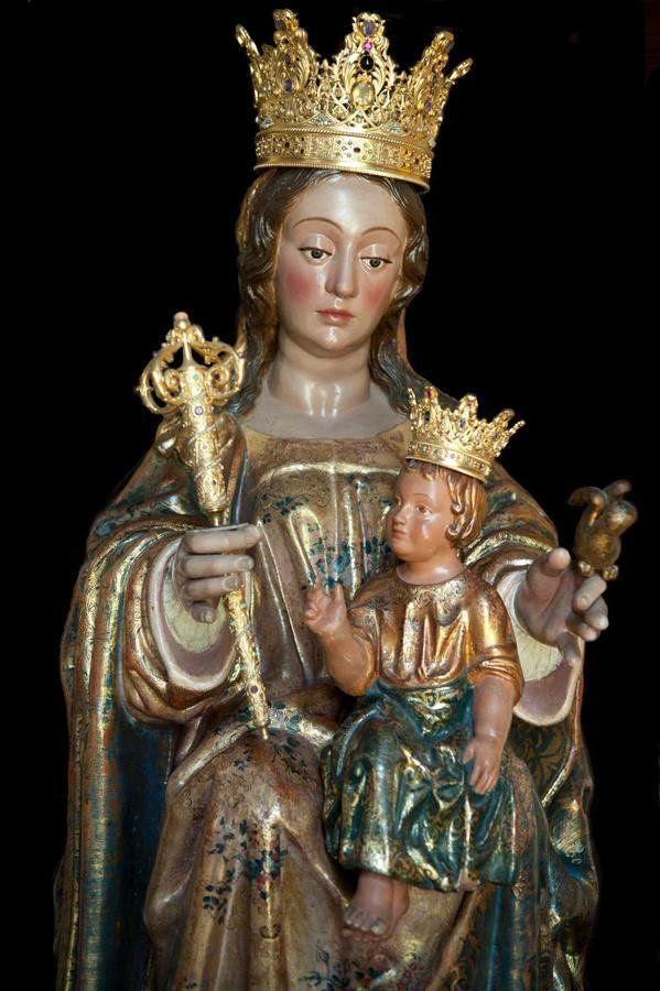 Resultado de imagen de Virgen de la Victoria malaga