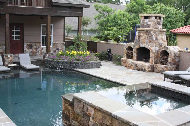 Frank Bowman Designs Inc Swimming Pool Landscape Picture Raleigh