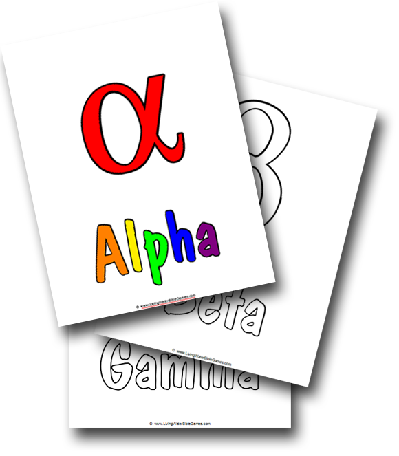 840 Top Coloring Pages Greek Alphabet For Free