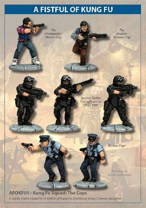 afokf kung fu squad  cops north star military