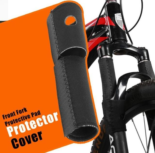 Pad Wrap Cover  MTB Road Frame Chain Protector  Bike Front Fork Protection