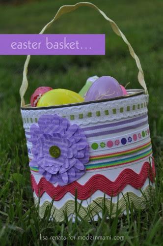DIY Easter Basket for Kids