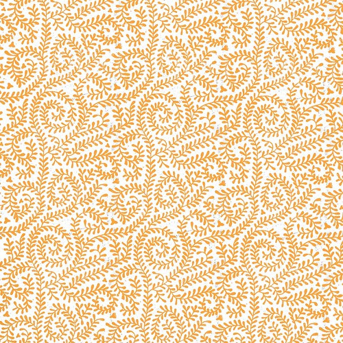 4-tangerine_BRIGHT_VINE_OUTLINE_melstampz_12_and_a_half_inches_SQ_350dpi