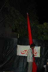 Jiss key ragon(vein) mein aatish-e-badr o honain hai Us surman ka ism-e-girami Hussain hai. by firoze shakir photographerno1