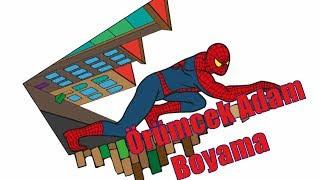 All Clip Of örümcek Adam Boyama Bhclipcom