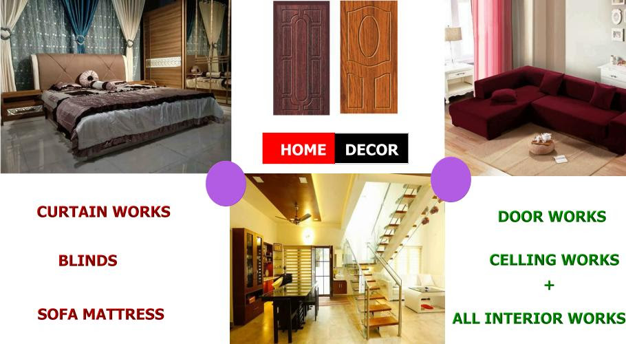 Home Decor Interior Services Puthiyatheru Kannur