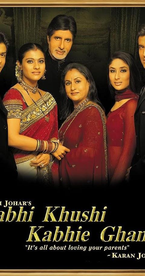 Kabhi Khushi Kabhie Gham(2001) 480p 720p 1080p BluRay Hindi Full Movie