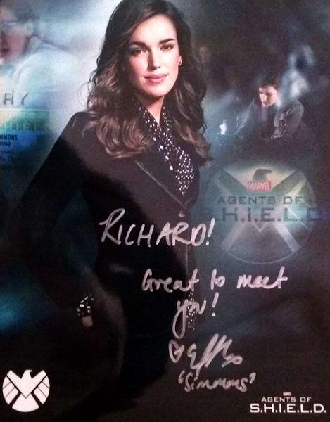 My autograph by Elizabeth Henstridge.
