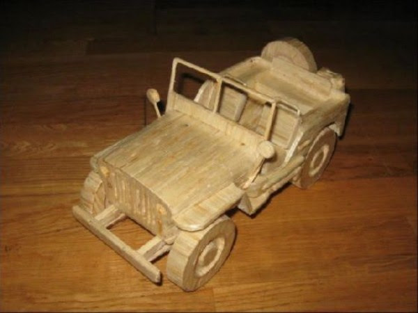 1328 Impressive Matchsticks Vehicles (20 photos)