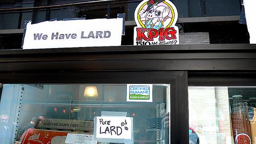 we have lard