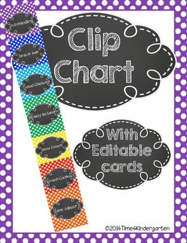 clip chart, behavior chart