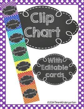 clip chart, behavior chart