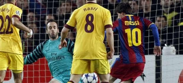 Champions League: El Barça abre el cerrojo del Arsenal y se mete en cuartos