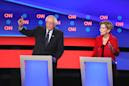 'You're wrong': Sanders, Warren open debate defending health care plan