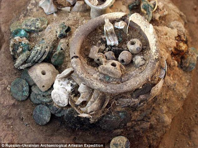 Harta Karun Di Benteng Laut Hitam 2.000 Tahun Yang Lalu