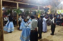 Grupo de danças apresentou Maçanico, Tatu de Castanhola e Pezinho