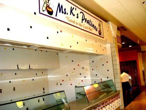 Empty Store 4 Mrs. K's Pralines
