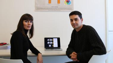 <p>Los autores de esta investigación, Raquel Vilar y Juan Verdejo. / UGRdivulga</p>