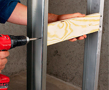 Framing with Metal Studs - How to Install House Doors. DIY ...