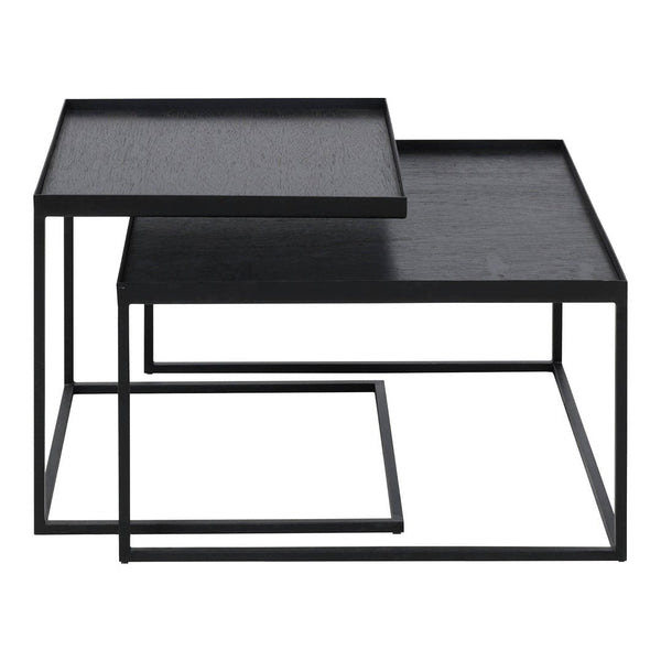 Ethnicraft Square Tray Coffee Table Set By Dawn Sweitzer Design Public
