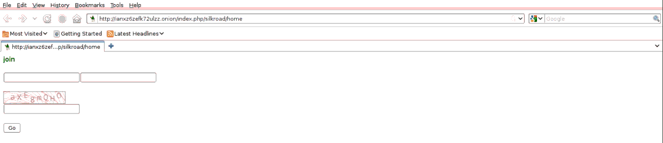 2011 SR log-in form on the homepage