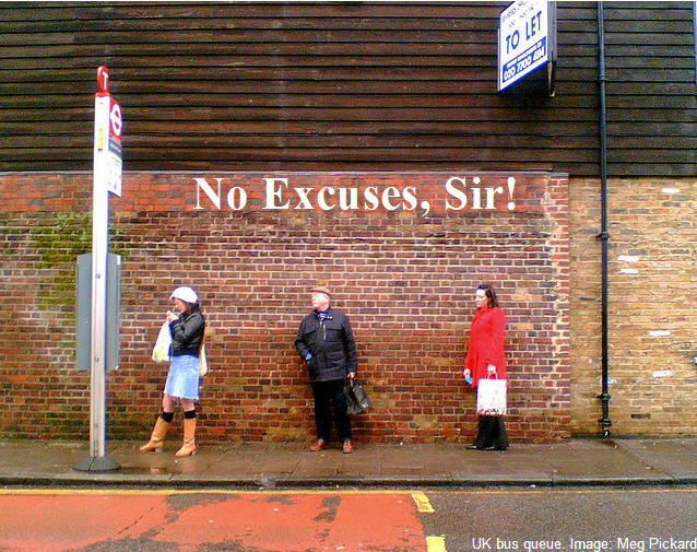 uk-bus-queue-no excuses
