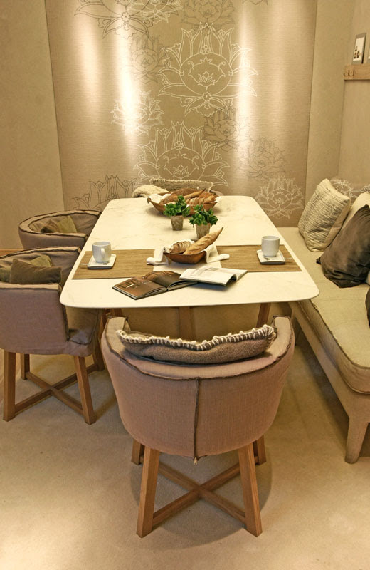 Casa FOA 2010: La Defensa, Espacio Nº 12 Comedor Diario, Judith Babour, decoracion, interiores, muebles