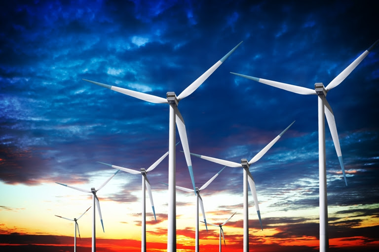Cresce a participação de energias alternativas, como a eólica. Foto: Shutterstock