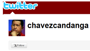 Hugo Chavez joins Twitter, gets 120,000 followers after two tweets