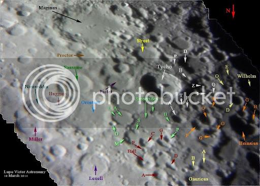 Registax Orontius crater telescope moon astronomy