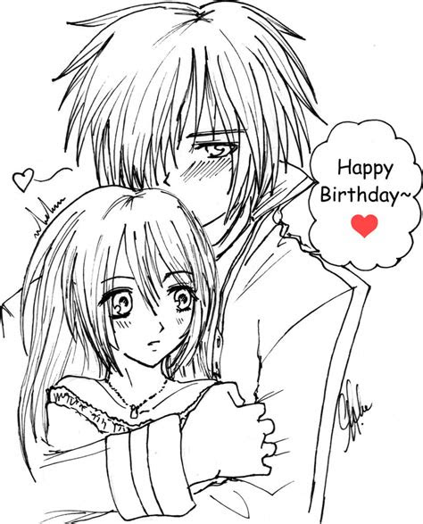 happy birthday vocalidiot  kunoichi anime angel