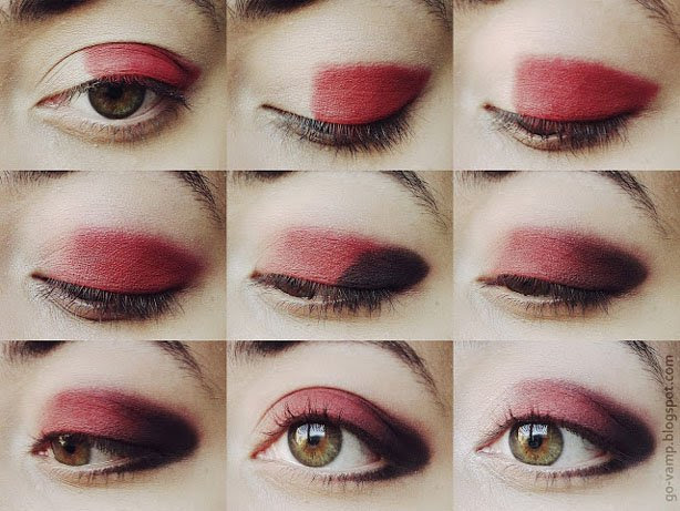 Red Eye Makeup Looks - Our Top 9 | Styles At Life