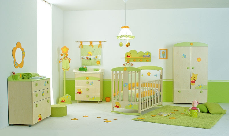 Cool Baby Nursery Rooms Inspired by Winnie the Pooh | DigsDigs