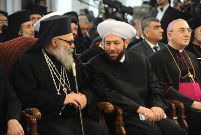 Syrian Christian leaders meet on Christmas Day to discuss bringing peace to the war torn Middle Eastern state. The United States is backing rebels terrorizing the country. by Pan-African News Wire File Photos
