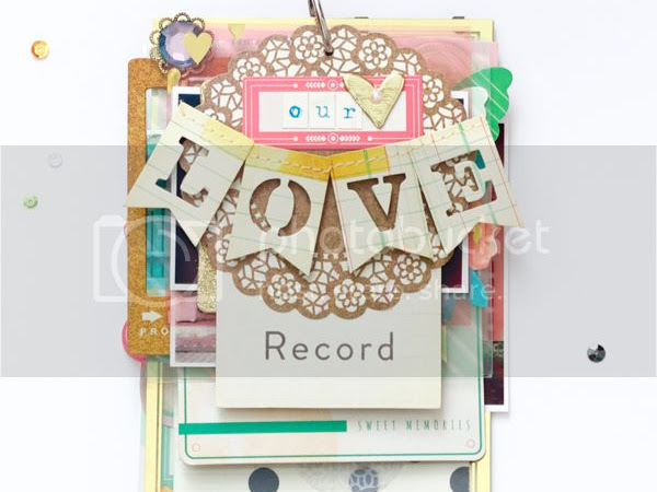 Maggie Holmes Design Team : Our Love Record