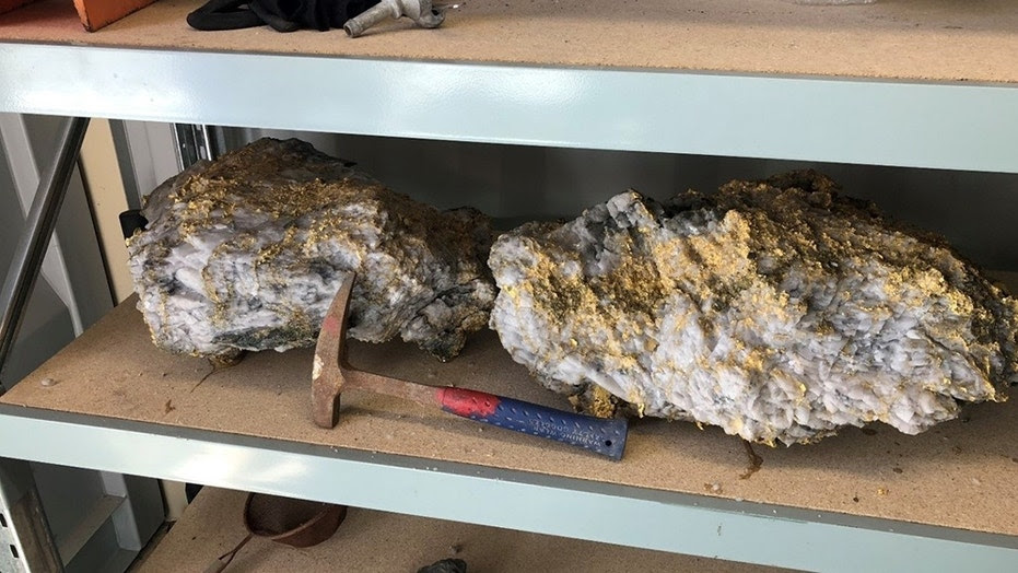 The biggest of the stones came in at 198 pounds and is estimated by the company to contain about 143 pounds of gold, a total that at current prices would be worth around $2.6 million