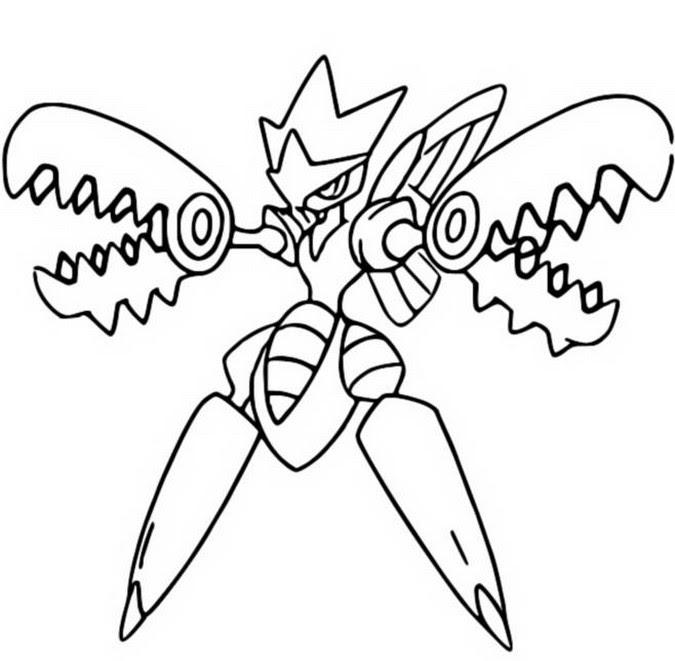 Coloriages Pokémon Méga évolués Bonjour Les Enfants