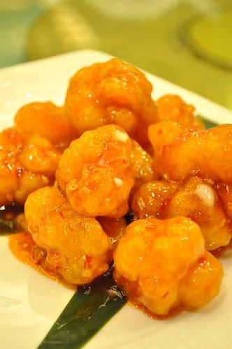 sweet and sour prawn balls