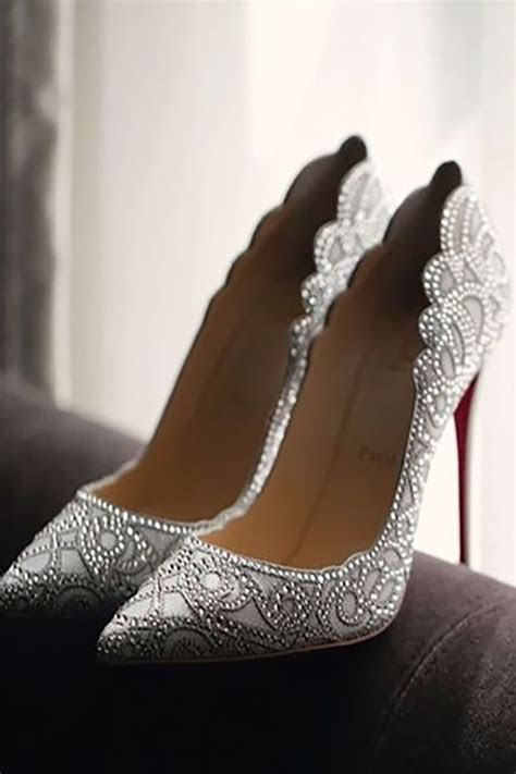 30 Officially The Most Gorgeous Bridal Shoes   Wedding