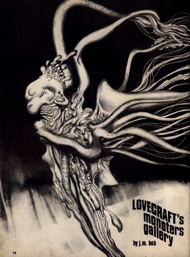 Josep M. Beá - Lovecraft Monster Gallery - 10