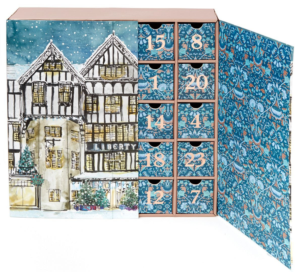 Image result for liberty of london advent calendar 2017